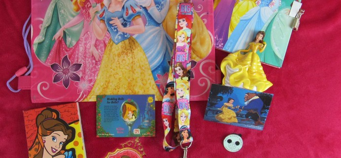 Walt Life Addiction Magic Plus Princess Box One Time Box April 2017  Review + Coupon