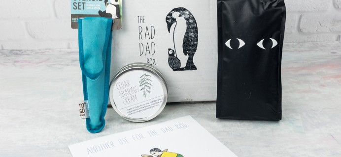 The Rad Dad Box April 2017 Subscription Box Review + Coupon!