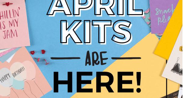 April 2017 Happy Mail + Messy Box Full Spoilers!
