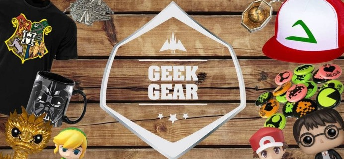 Geek Gear November 2018 & December 2018 Theme Spoilers + Coupon!