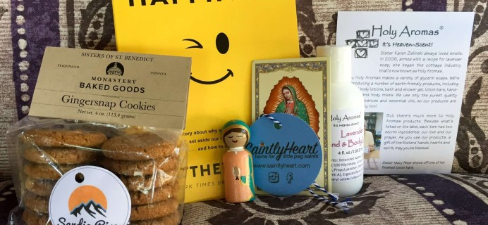 The Catholic Goodie Box April 2017 Subscription Box Review + Coupon