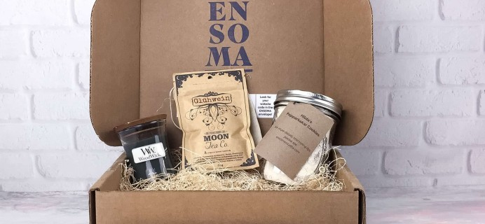 ENSOMA Box December 2016 Subscription Box Review