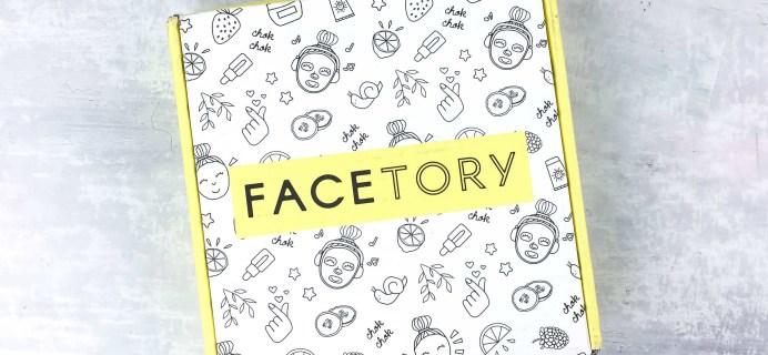 FaceTory April 2017 Subscription Box Review – SEVEN LUX