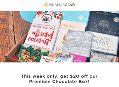 OrangeGlad Deal: 50% Off Premium Chocolate Box!