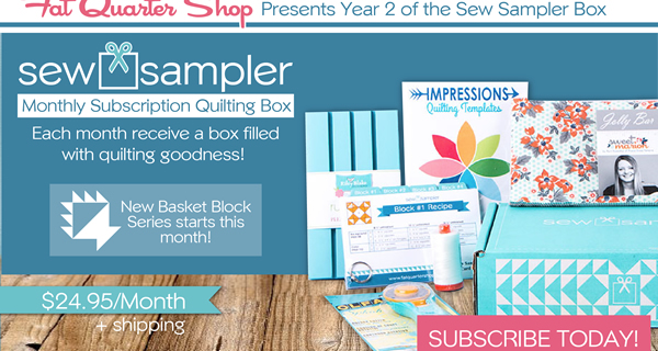 Sew Sampler Year Two Announced!