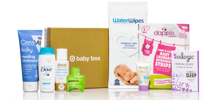 $5 Target Baby Box Available Now!