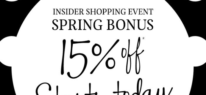Sephora Spring Bonus Sale Starts Now: 15% Off Site for VIBs!