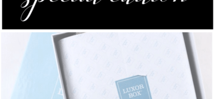 Luxor Box June 2017 Limited Edition Best of the Best Box Spoiler #2!
