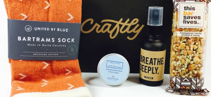 Craftly March/April 2017 Subscription Box Review