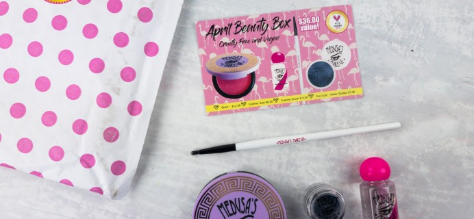 Medusa's Make-Up Beauty Box Subscription Box Review – April 2017