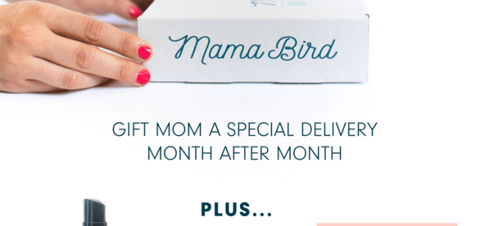 Mama Bird Box Coupon: Free Gift With Mother's Day Box!