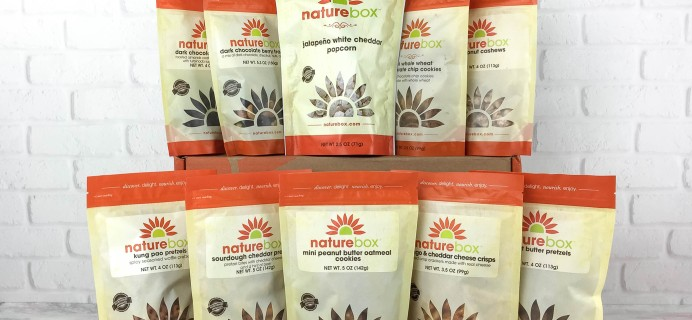 NatureBox Club Review & Coupon – April 2017