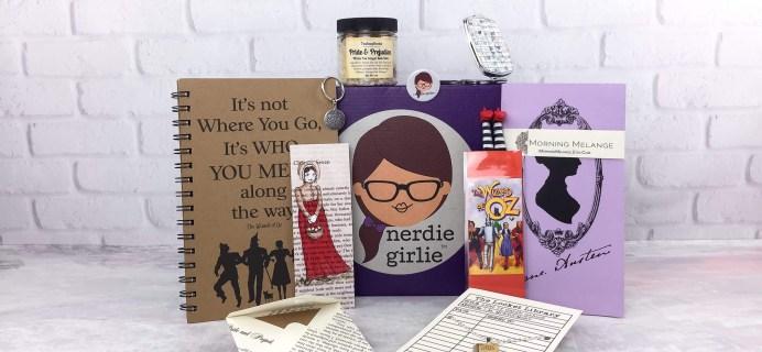 Nerdie Girlie April 2017 Subscription Box Review