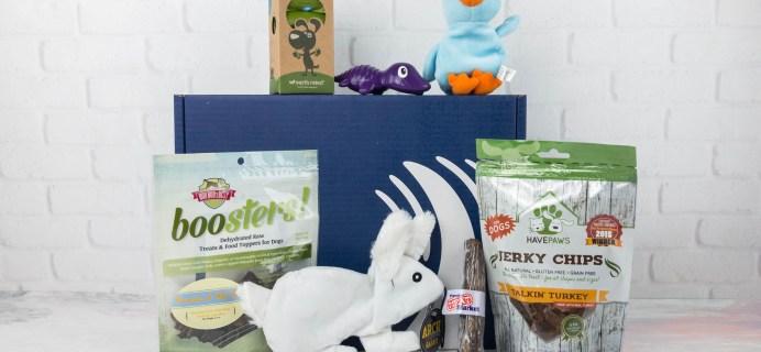 PupJoy April 2017 Subscription Box Review + Coupon