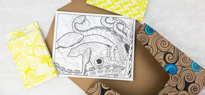 Target Art & Craft Kit April 2017 Review