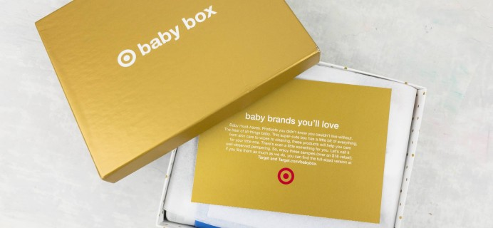 Target Baby Box Review – April 2017