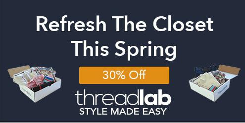 ThreadLab 30% Off Coupon!
