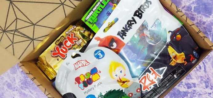 Toy Box Monthly March 2017 Subscription Box Review