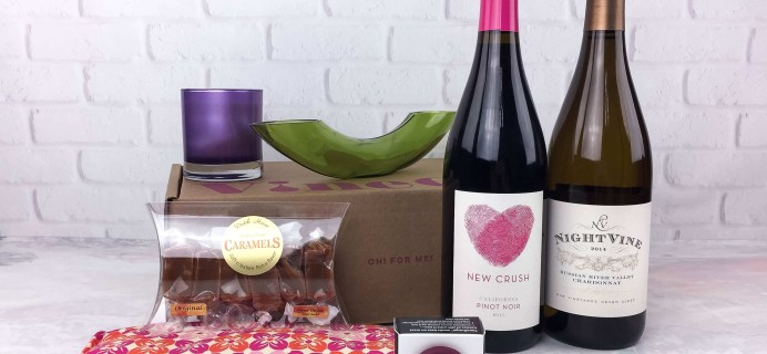Vine Oh! Spring 2017 Subscription Box Review + Coupons