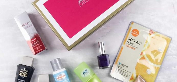 Walmart Beauty Box Spring 2017 Review