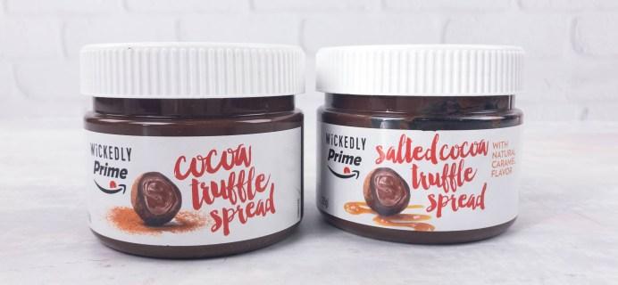 Wickedly Prime Review – Cocoa Truffle Spread & Salted Cocoa Truffle Spread