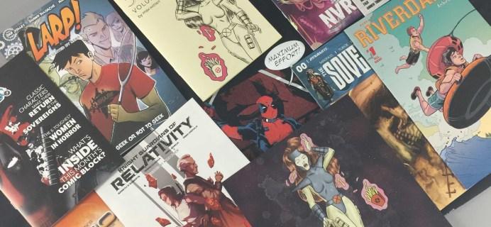 Comic Block Subscription Box Review & Coupon – April 2017