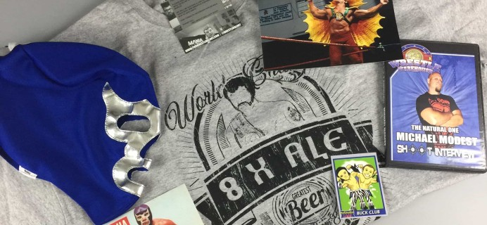 Pro Wrestling Loot May 2017 Subscription Box Review + Coupon