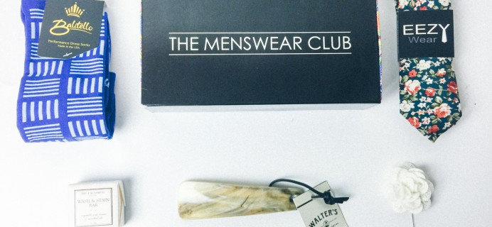 The Menswear Club April 2017 Subscription Box Review + Coupon