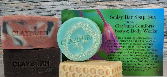 Sudsy Bar Soap Box May 2017 Subscription Box Review + Coupon