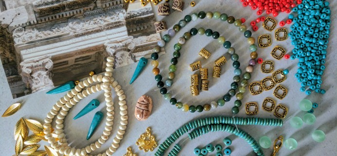 Blueberry Cove Beads Subscription Box Review – May 2017