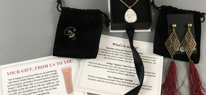 Cate & Chloe VIP June 2017 Subscription Box Review + Coupon