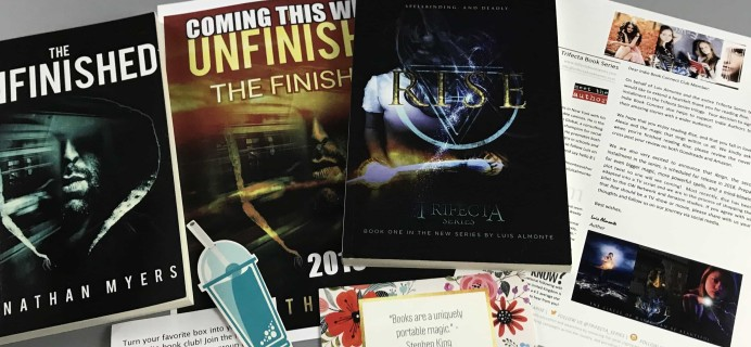 Indie Book Connect Subscription Box Review + Coupon – May 2017