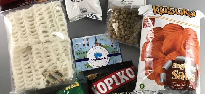 TopMunch May 2017 Subscription Box Review + Coupon – Indonesia