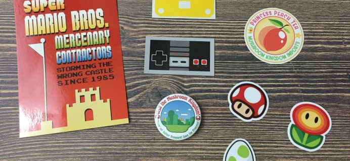 The Geeky Decal April 2017 Subscription Box Review + Coupon