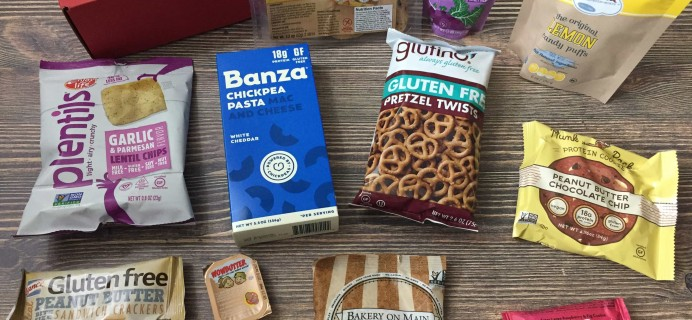 Love With Food Gluten-Free May 2017 Subscription Box Review + Coupon