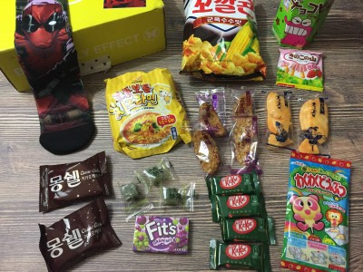 EsianMall May 2017 Subscription Box Review + Coupon – Tasty Snacks + Geek Gear Box