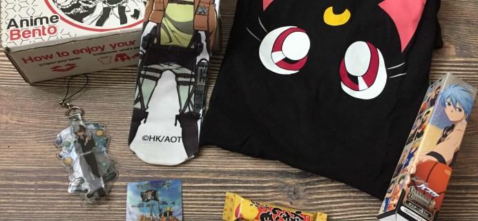 Anime Bento May 2017 Subscription Box Review & Coupon