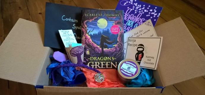 Ninja Book Box Subscription Box Review + Coupon – May 2017
