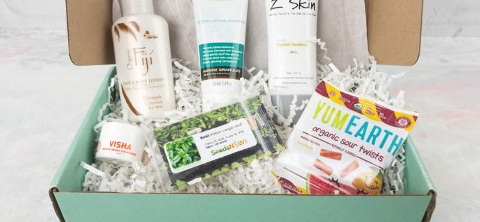 Ecocentric Mom May 2017 Subscription Box Review + Coupon – Mom Box