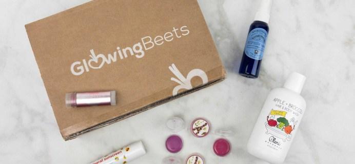 Glowing Beets May 2017 Subscription Box Review + Coupon