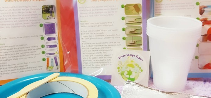 Green Kid Crafts April 2017 Subscription Box Review + 50% Off Coupon!