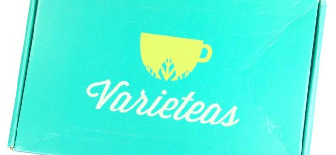 Varieteas Subscription Box Review + Coupon – June 2017