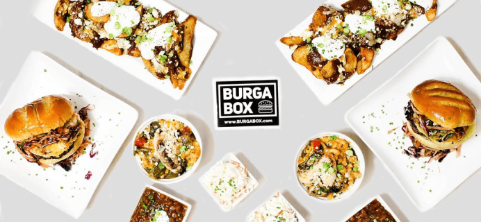 BurgaBox May 2017 Menu Available Now + Coupon!