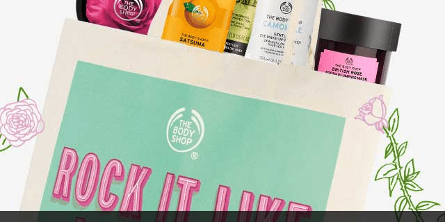 The Body Shop Limited Edition Mother's Day Gifts Available Now!