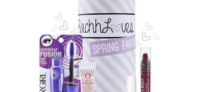 Limited Edition RachhLoves Spring Favourites TopBox Available Now!