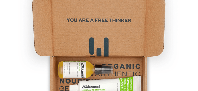 Akamai Basics Coupon: 20% Off Natural & Eco-Friendly Basics!