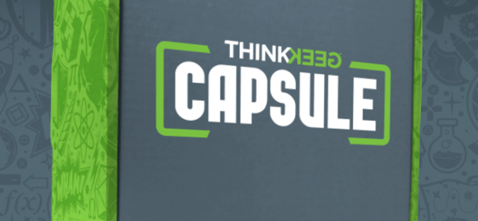 ThinkGeek Capsule August 2017 Shipping Delay