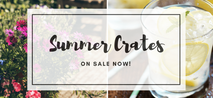 Gable Lane Crates Summer Crates RESTOCKED + Coupon