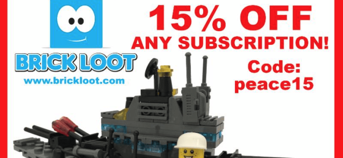 Brick Loot Memorial Day Coupon: 15% Off Subscriptions!