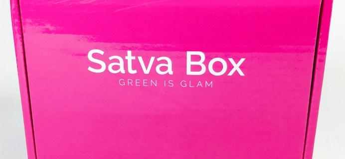 Satva Beauty Box May 2017 Spoilers + Coupon